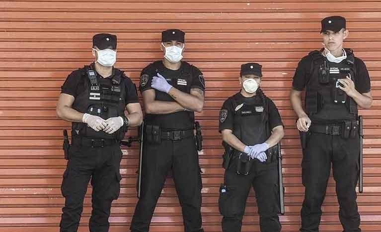 Casi 250 detenidos en todo el país por violar el aislamiento obligatorio