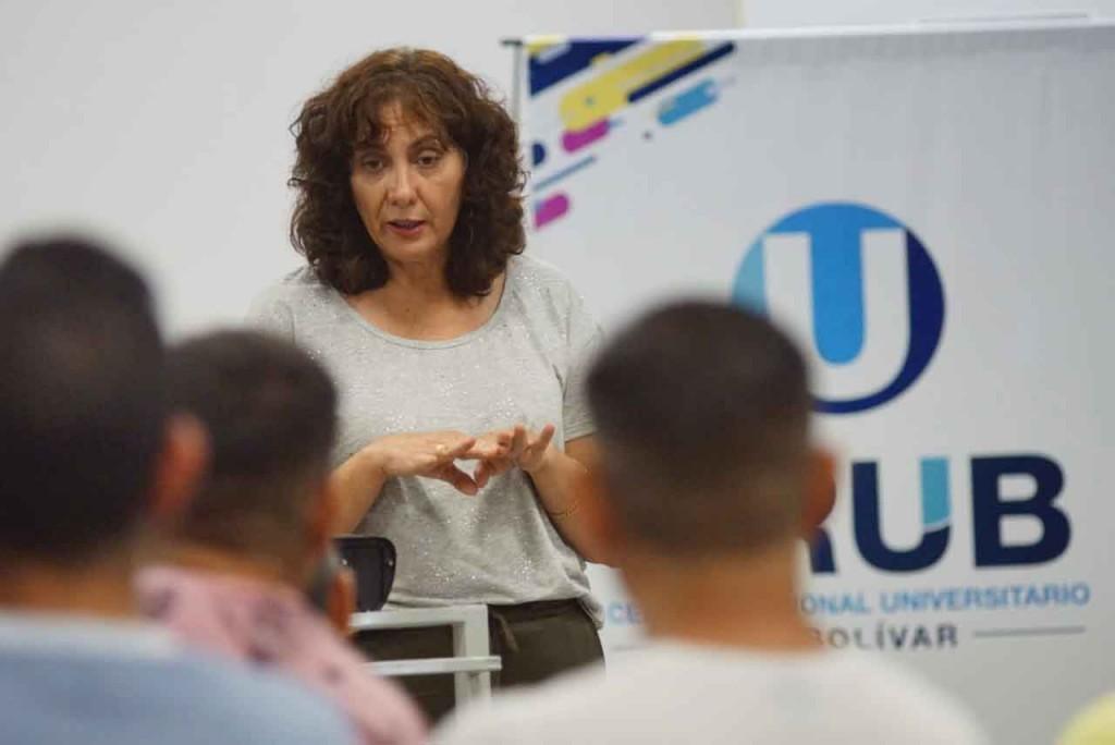 Mary Jofre; 'Queremos llevar tranquilidad de que no tenemos casos positivos en Bolívar'