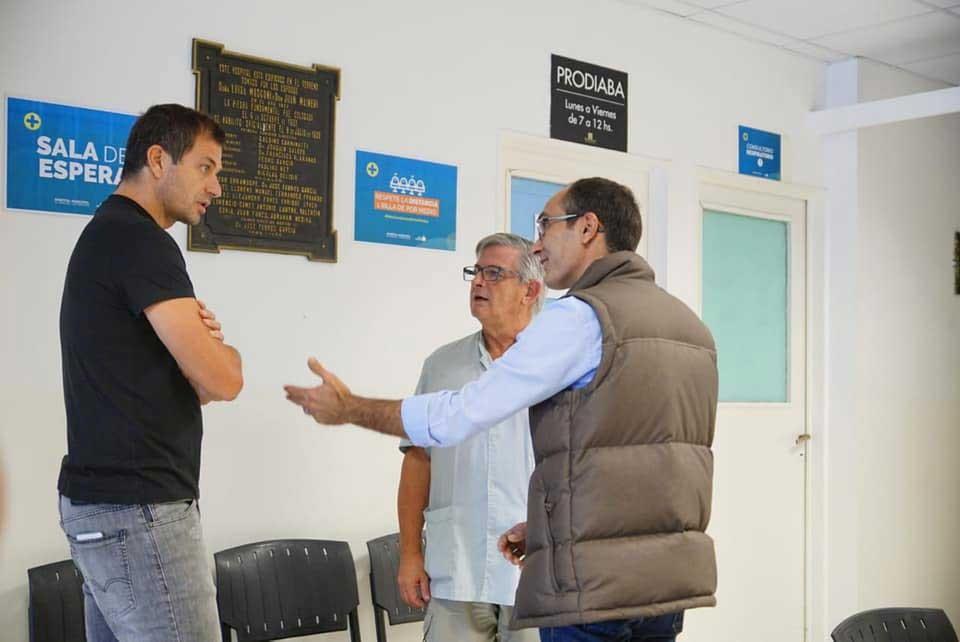 El Intendente Pisano recorrió el Hospital Miguel Capredoni