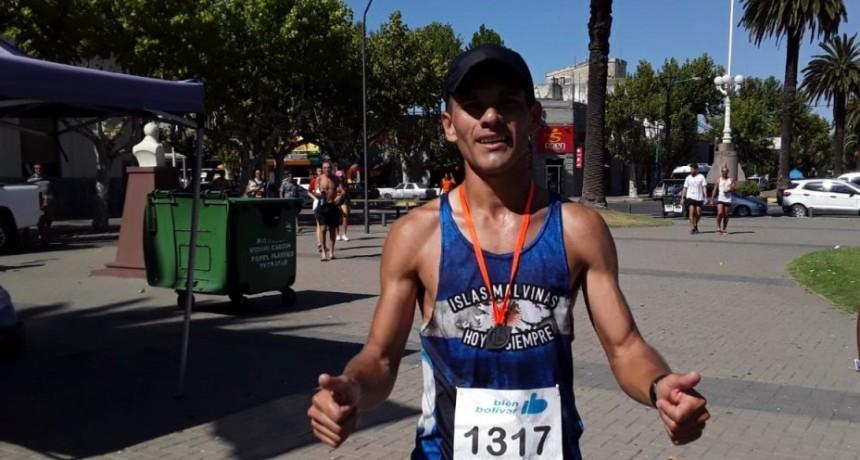 Ezequiel Magallanes de Olavarría se consagró en la 7° edición del Maratón Me Encanta Bolívar