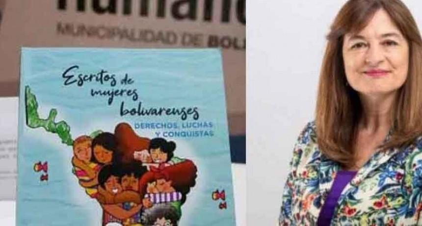 En presencia de la Ministra Estela Díaz; el segundo libro Escritos de Mujeres Bolivarenses se presentará en el Cine Avenida