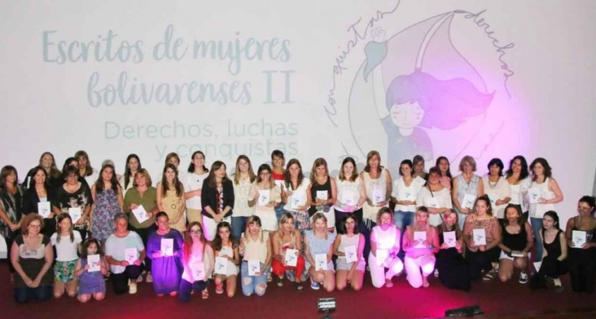 Se presentó el segundo libro 'Escritos de Mujeres Bolivarenses. Derechos, Luchas y Conquistas'
