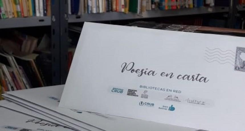 Poesía en Carta: La nueva iniciativa de Bibliotecas en Red