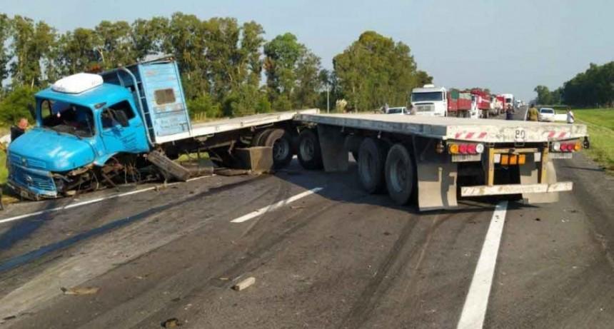 Un muerto en impactante accidente en Ruta N.º 3
