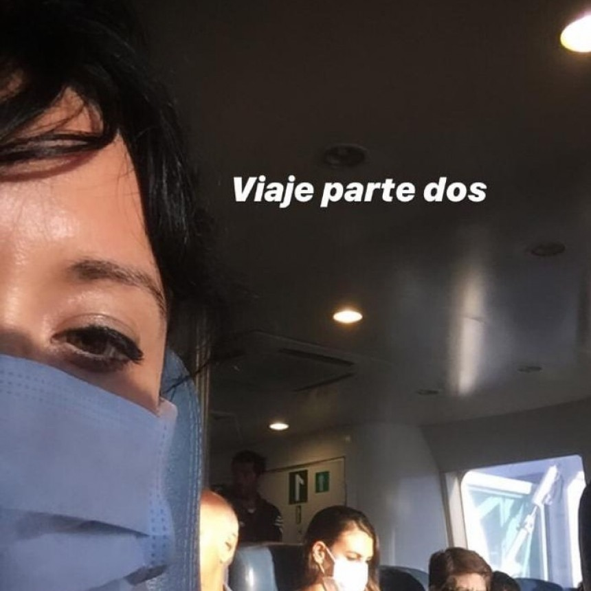 Natalia de la Rosa; 'En principio sentíamos bronca; fue una espera eterna dentro del buque sin saber que iba a pasar'