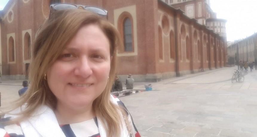 Adriana Virgilio; 'El mejor deseo desde este lugar es que seamos solidarios como comunidad para salvarnos todos'