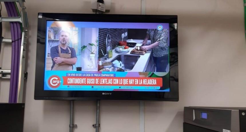 Información Oficial; La Municipalidad reparó la antena de la Televisión Digital Abierta