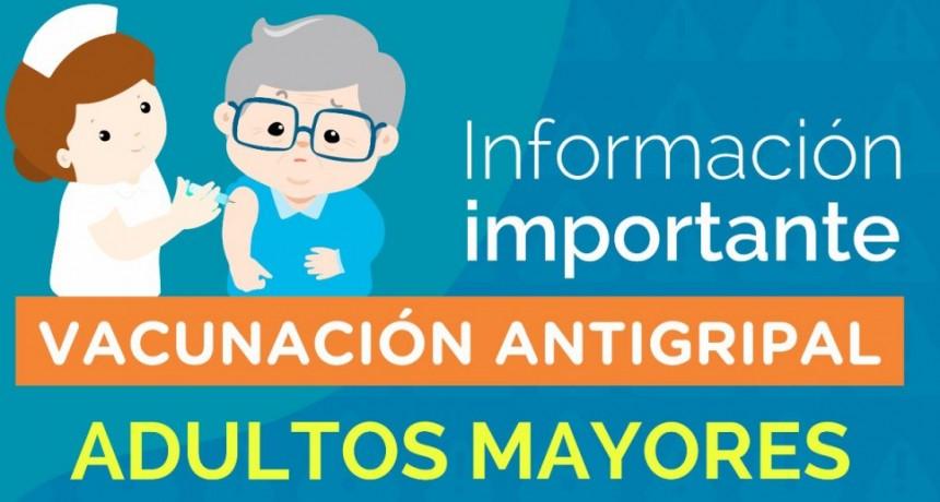 Información Oficial; Habrá vacunación antigripal domiciliaria para la población de riesgo