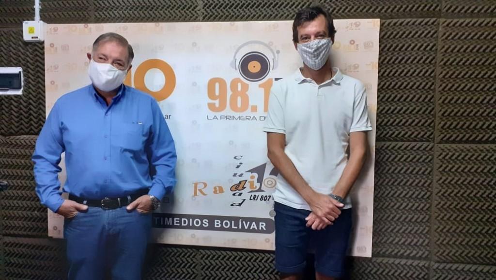 """Julio Ruiz: """"Hay que enseñarles a los jóvenes lo que significa Bolívar para que aprendan a amar a su pueblo"""""""