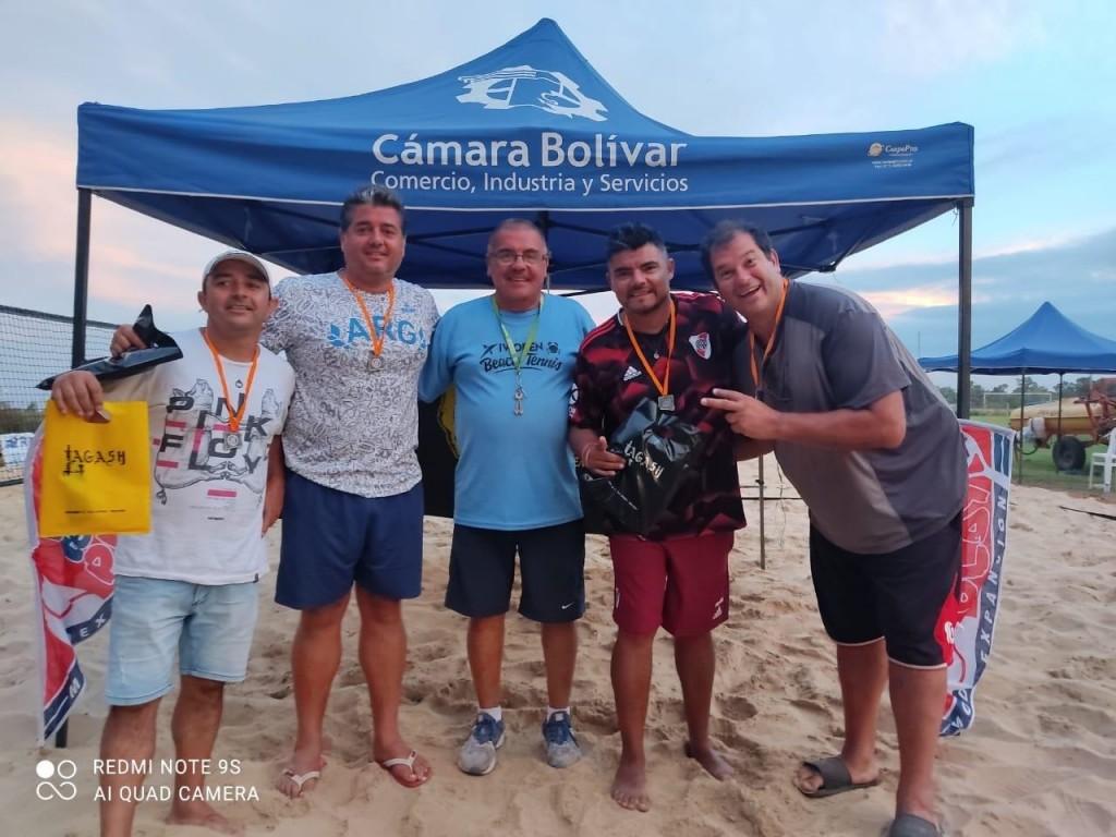 """Claudio Garayalde (Beach Tenis): """"El torneo salió muy bien, hubo principiantes y jugadores 'pro', sirvió mucho para ver y aprender"""""""