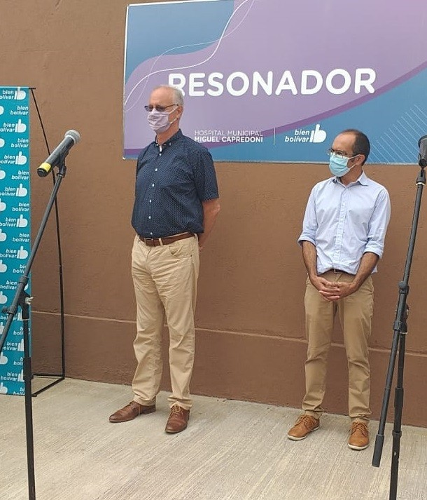 """Daniel Gollán y Marcos Pisano: """"Esta es la muestra del trabajo conjunto de Nación, Provincia y Municipio"""""""