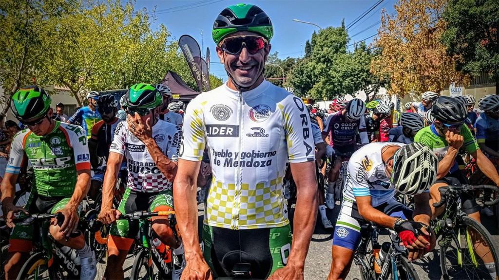 Juan Pablo Dotti se coronó en la Vuelta de Mendoza