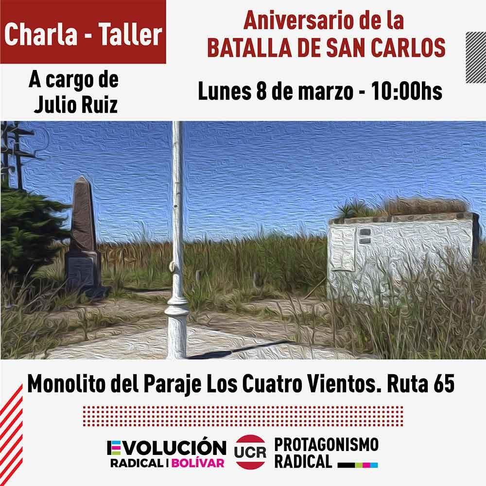 Doble jornada el 8 de marzo: Talleres educativos organizados desde Evolución Radical Bolívar