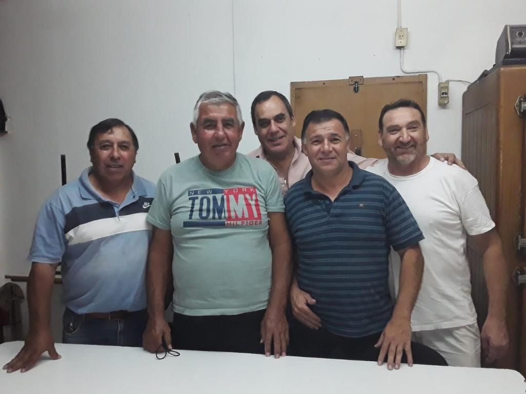 """Oscar Bissio (Comisión El Fortín): """"Los cimientos son sólidos, son cada una de las personas que me acompañan y juntos vamos a cumplir grandes sueños"""""""