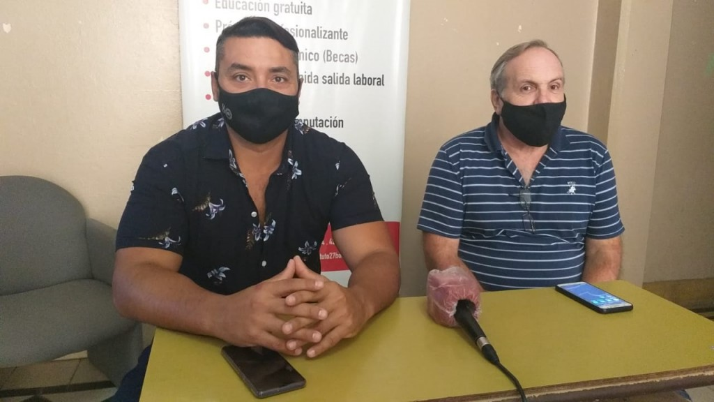 """Luciano Sánchez: """"Se han colapsado los cupos de estudio, tenemos un número de más de 600 inscriptos"""""""