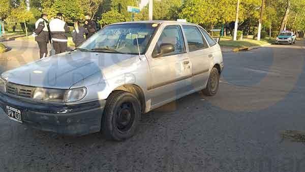 Se registró un impacto en Avenida Brown y Pedro Vignau