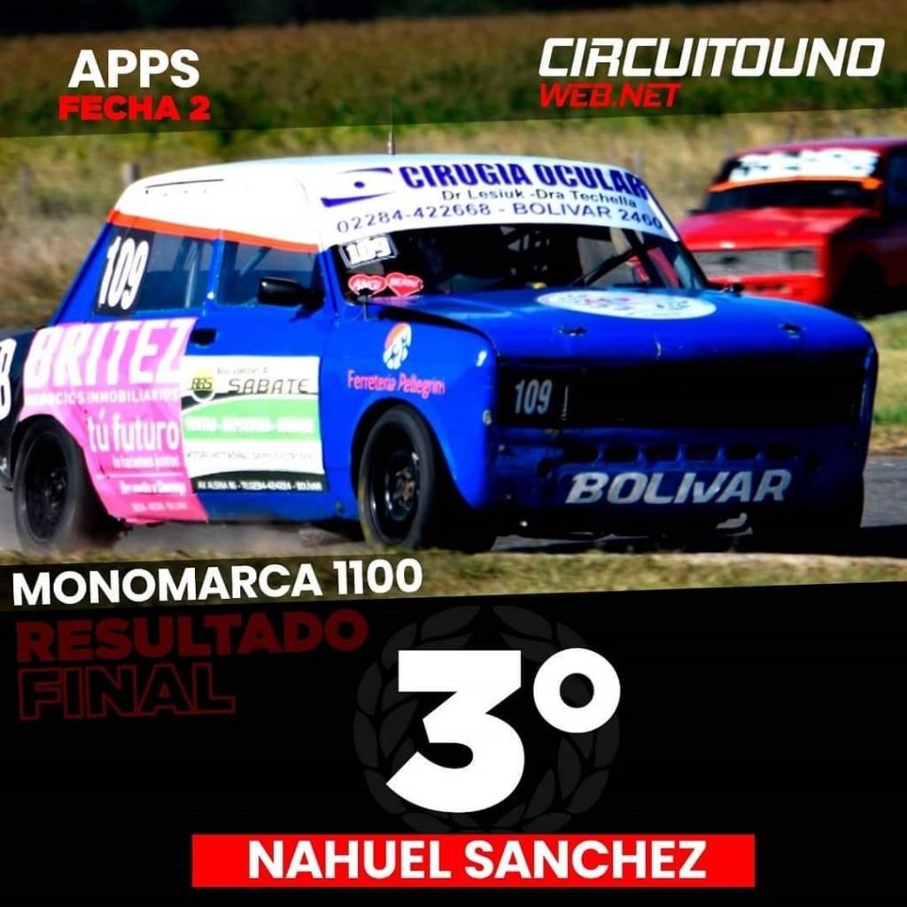 """Nahuel Sánchez: """"Por suerte empezamos a ganar los primeros puntos del año, ya que en la fecha pasada habíamos ganado y nos habían excluido"""""""