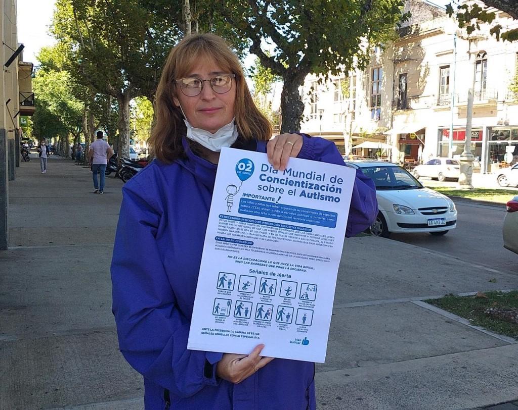 """María Luján Bouciguez: """"Debemos proveerles las herramientas para poder llevar mas adelante una mejor calidad de vida"""""""