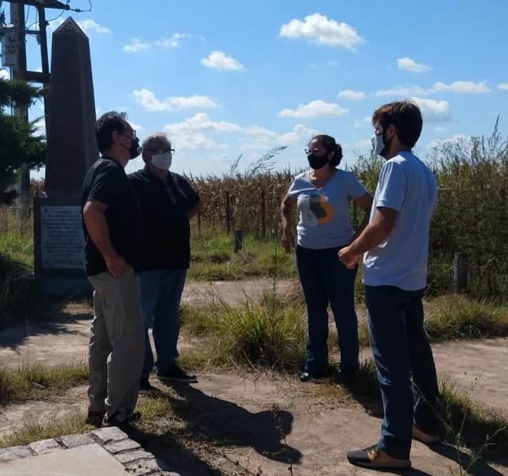 Patrimonio de la Provincia: La Dirección de Turismo acompaña la realización de estudios arqueológicos en el Partido de Bolívar