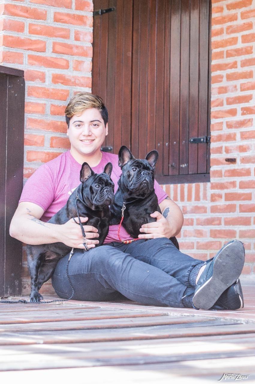 """Yaco Casas: """"Mis perros  son la familia que yo elijo tener"""""""