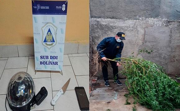 SUBDDI Bolívar: En varios allanamientos, secuestraron elementos robados en una quinta