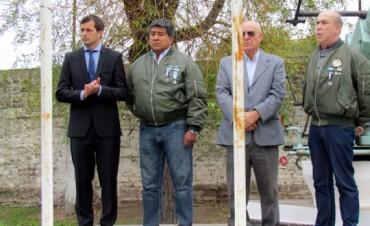 Los excombatientes de Bolívar recordaron en frases la gesta de Malvinas