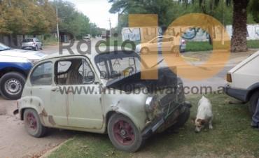 Accidente de tránsito en av. Pedro Vignau y Rodríguez Peña