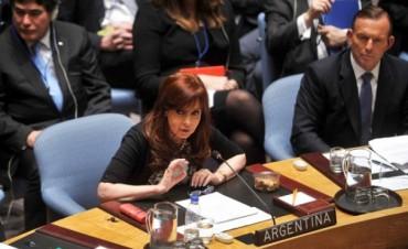 Cristina arribó a la sede de la VII Cumbre de las Américas para el encuentro de presidentes