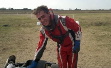 Federico Díaz ganó la tercera fecha del Karting del Oeste