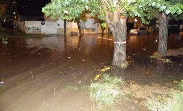 En las tres jornadas de lluvia, se acumularon 180 milímetros