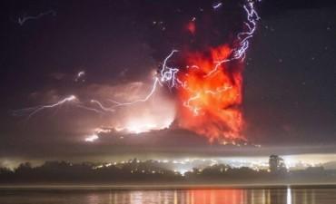 Nueva erupción del volcán Calbuco