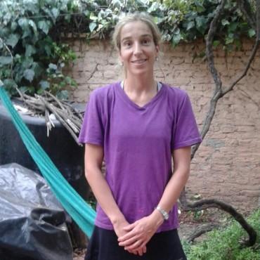 CEF N°5: Lorena Juárez invita a practicar Gimnasia Aeróbica