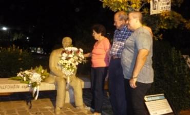 Acto por el séptimo aniversario del fallecimiento del Dr. Raúl Alfonsín