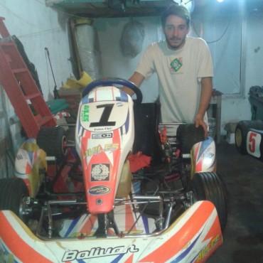 Santiago Fuentes (Karting): 'El objetivo es andar adelante, pelear la punta'