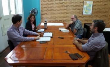 Actividad Municipal: Se llevó a cabo una reunión con representantes de INTA