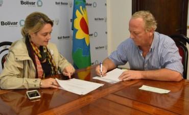 La Municipalidad entregó un subsidio a Bomberos Voluntarios de Pirovano