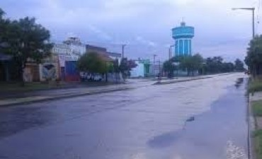 Lluvia dispar en el partido de Bolívar