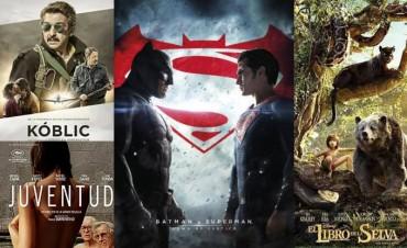 Continúan 'Batman Vs. Superman' y 'El Libro de la Selva' en el Avenida
