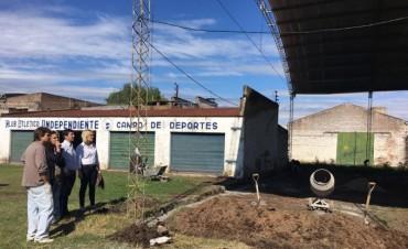 Club Atlético Independiente: Comenzó la construcción de la pista de patín