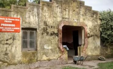 El Municipio comenzó la obra de puesta en valor del Destacamento de Unzué