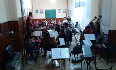La Orquesta Escuela trabaja de cara a su viaje a Tucumán