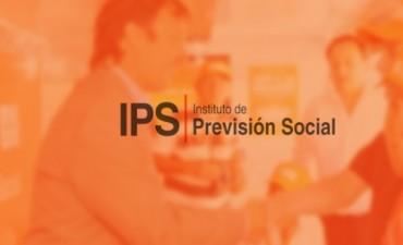 Jubilados y Pensionados del IPS percibirán los haberes de abril a partir del jueves 28