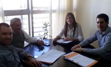 Se llevó a cabo una reunión con el director provincial de Desarrollo y Promoción Industrial