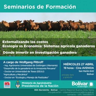Cine Avenida: Dictarán dos seminarios de formación sobre ganadería