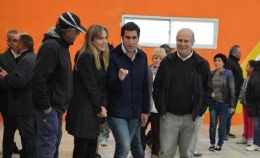 'Cacho' Álvarez se mostró junto a Manu Mosca y otros dirigentes de Cambiemos