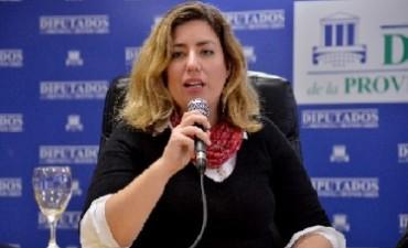 La Diputada Portos estará en Bolívar brindando una charla sobre violencia de género