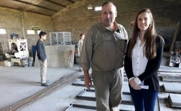 LA COOPERATIVA SIGUE CRECIENDO: Premoldeados Parq Ind vendió rampas a la ciudad de Mercedes