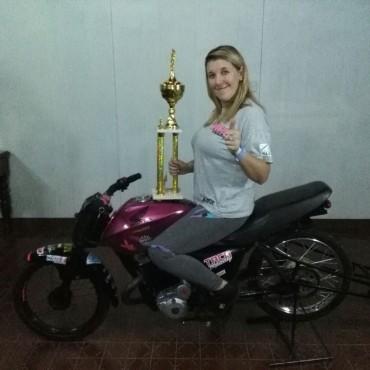 ¼ de milla: Celluccio se trajo un trofeo de Balcarce