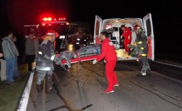 Un bolivarense grave a raíz de un accidente en Ruta 226