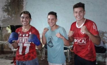 Los púgiles bolivarenses se preparan para el gran combate de esta noche